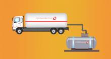 Расход газа газгольдером