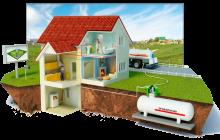 Автономная газификация дачи
